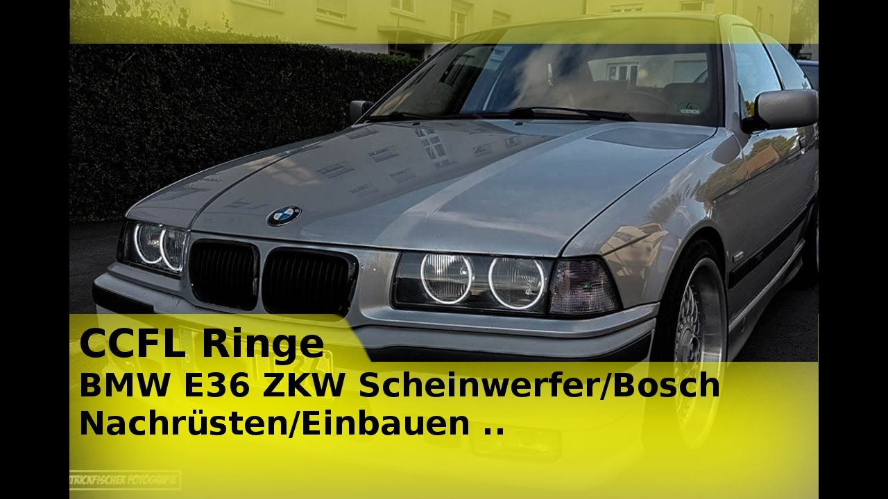 bmw e36 ccfl ringe zkw bosch scheinwerfer nachr sten. Black Bedroom Furniture Sets. Home Design Ideas