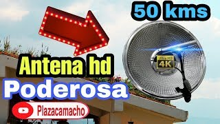 Antena HD mega potente solo $10.00 costo de construcción.