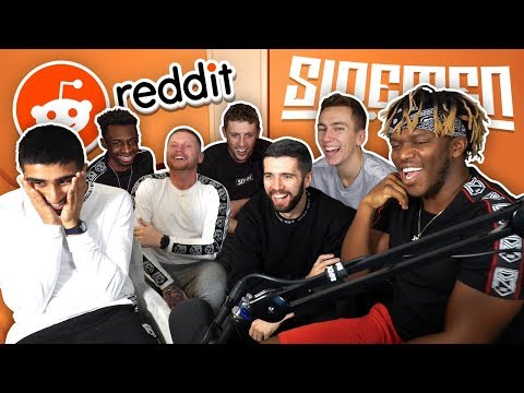 SIDEMEN REACT TO THEIR REDDIT