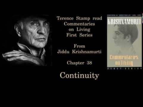 Terence Stamp reads Jiddu Krishnamurti