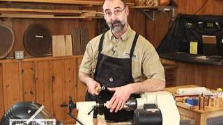 Woodworking Tips & Technique: Lathe - Turning With A Chatter Tool