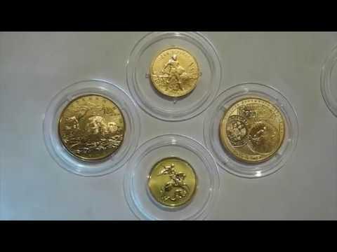 Лучшие золотые инвестиционные монеты России