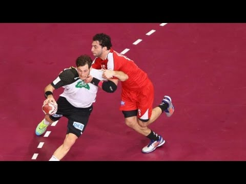 Germany vs Egypt - 1/8 final - Men's Handball World Championship 2015 - 25/01