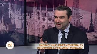 Hadházy Ákos ismét megpróbálta megzavarni a parlament munkáját