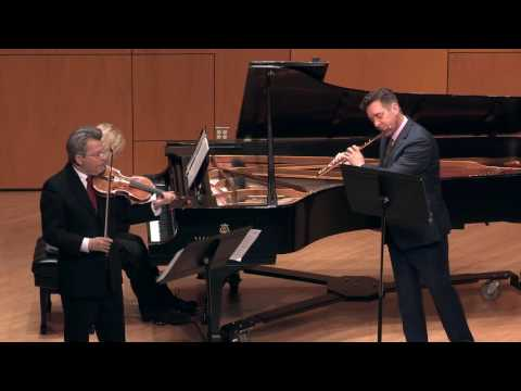Trio for Flute, Violin and Piano, by Nino Rota