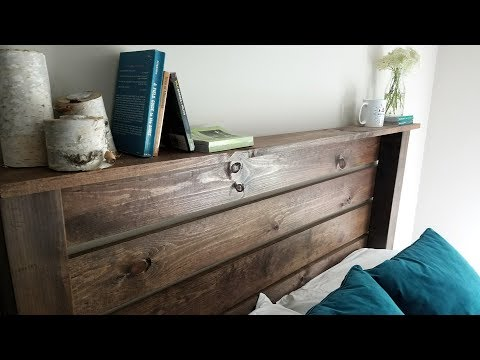 Quick DIY Headboard