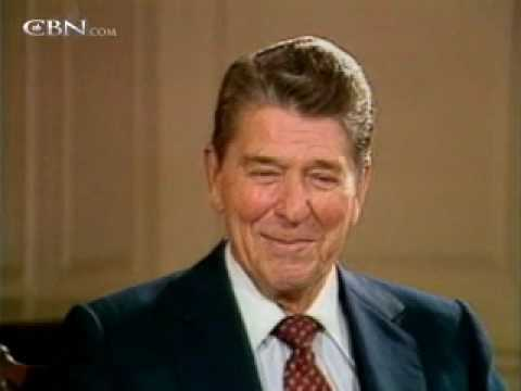 Ronald Reagan with Pat Robertson on The 700 Club -- September 1985 - CBN.com