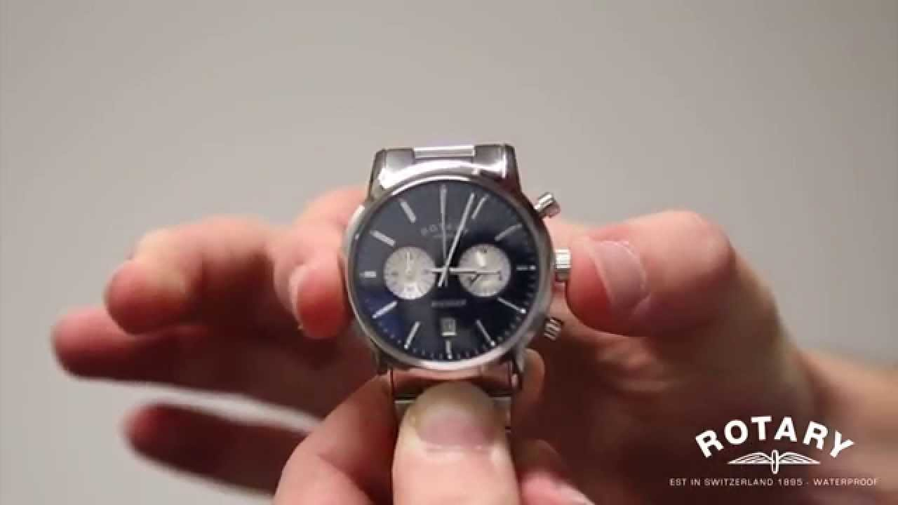 Image result for Rotary Avenger Chronograph (GB02730/04) Bracelet Watch