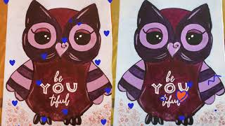 beYOUtiful Owl & Word of 2021 Paint Party on 16/01/2021