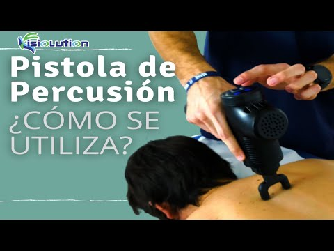 PISTOLAS de MASAJE - PERCUSION - VIBRACION ¿Qué son y cómo se utilizan? | Fisiolution