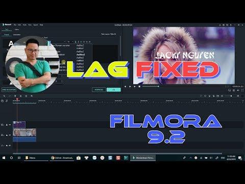 Filmora 9.2 LAG Fixed | Confirmed By Wondershare