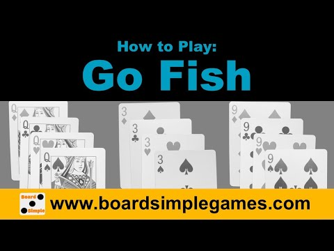 How To Play - Go Fish