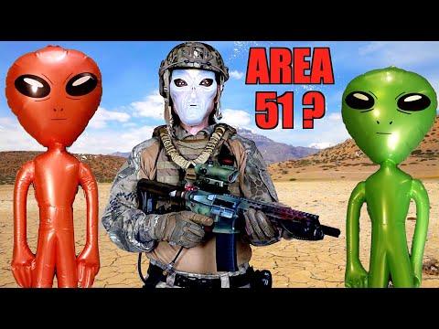 AREA 51 RAID Airsoft Loadout!