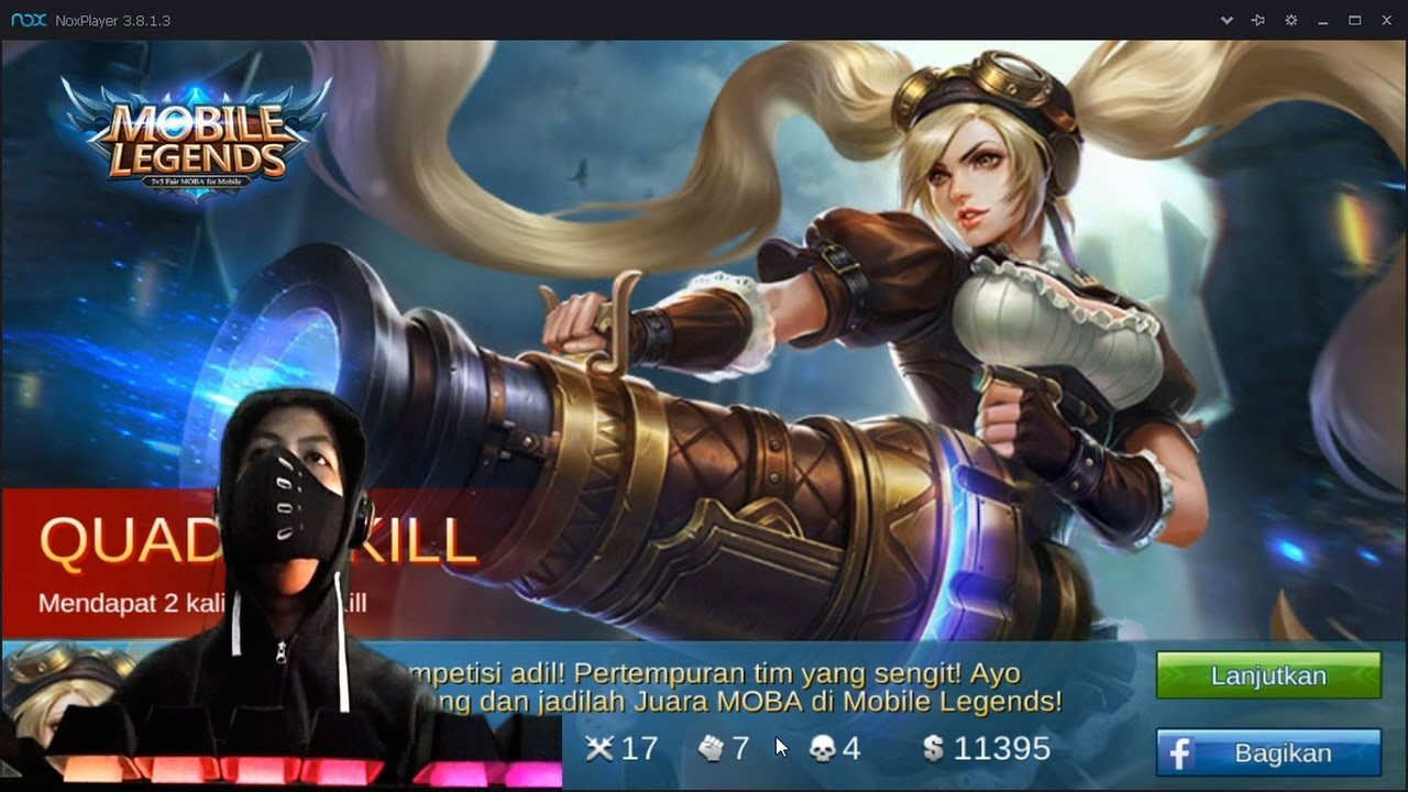 Mobile Legends Layla Build Full Attack Speed Quadra Kill On Ranked Youtube