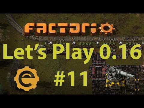Factorio 0.16 Let's Play #11 - Coal mining outpost