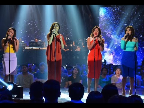 Sarah Geronimo, Angeline, Jona, and Klarisse  Someone Like You All I Ask Adele Medley