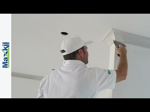Drywall Cornice Installation Tips Demo (Part 1)