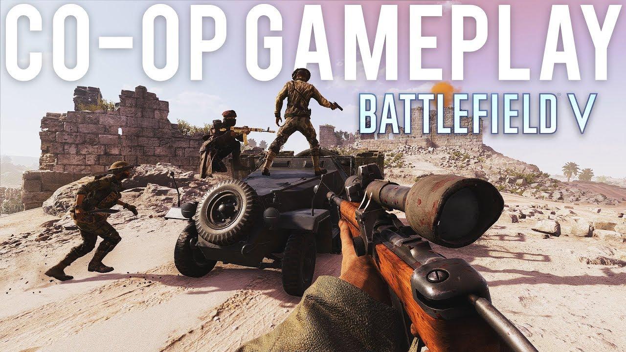 Battlefield 5 Co-Op Gameplay + video