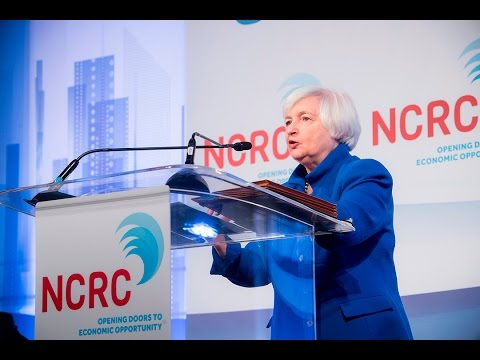 Janet Yellen  | NCRC 2017 Conference | 3.28.2017