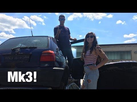 EPIC first junkyard! ( Mk3's , Polo's , E36's )