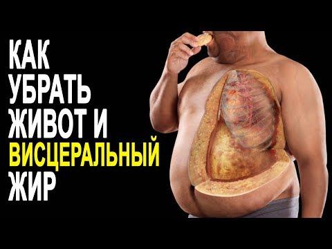 Как убрать внутренний жир с живота
