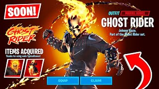 GHOST RIDER COMING SOON! (Fortnite Season 4)