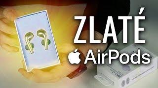 ZLATÉ AirPods ( z Číny )