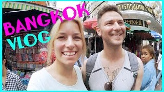 One Night and Day in BANGKOK I Was geht ab in CHINA TOWN I Tuk Tuk Thailand VLOG Teil 1