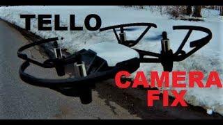 DJI Ryze Tello CAMERA FIX how to remove FRAME SKIP REVIEW DIY