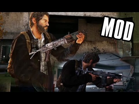 Multiplayer Weapons in Single Player Mod (The Last of Us)
