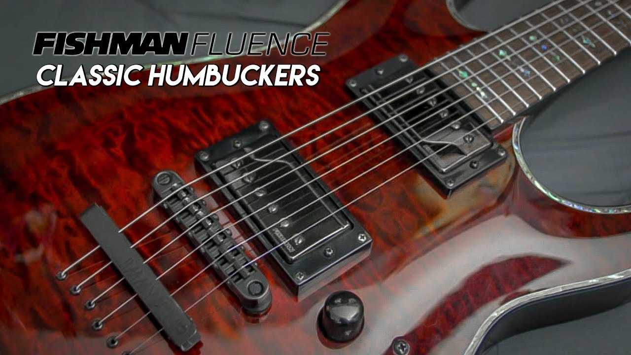 Fishman Fluence Classic Humbucker Pickups