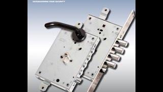 Как правильно врезать замок в металлическую дверь(В этом видеоролике показываю как правильно врезать в металлическую дверь замок. Чем отличается врезка..., 2015-09-20T05:55:25.000Z)