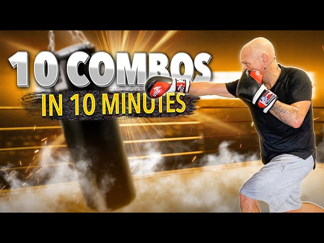 10 Combos in 10 Minutes   Boxing Workout