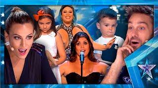 Descubre como SONRÍE Risto ante EL TOP 5 de las actuaciones más vistas | Got Talent España