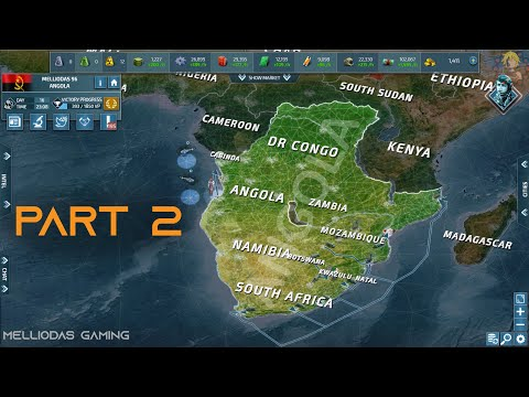 Conflict of Nations - How to play SOLO // Angola Part 2