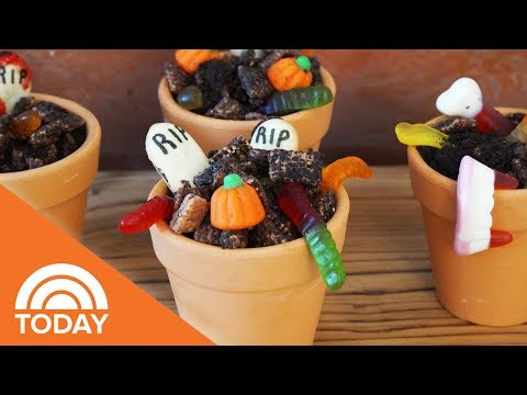 Make This Chocolate Graveyard Puppy Chow To Wow Any Halloween Party Crowd | TODAY