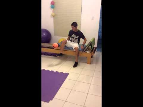 Embaixadinhas no pilates