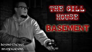 Ghosts in Very Haunted Basement ASKED ME MY NAME!!! Creepy Spirit Box Voices from THE GILL HOUSE
