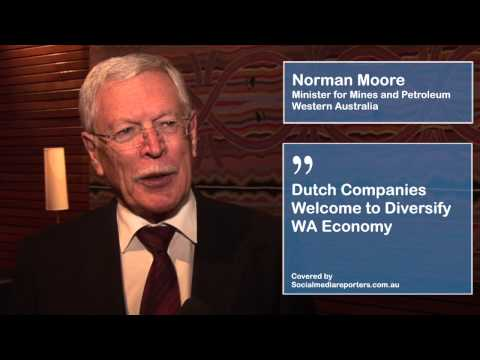 Dutch Companies Welcome to Diversify WA Economy