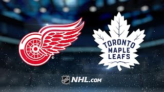 Balanced attack, Andersen lead Leafs past Red Wings