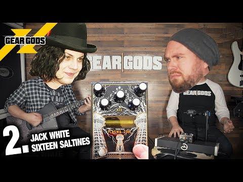 The 5 Best JACK WHITE Riffs! (Plasma Coil Pedal Demo)   GEAR GODS
