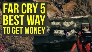 Best Spot To Farm UNLIMITED MONEY in Far Cry 5 *After Patch* 1.0.4 (Money Farming Glitch)