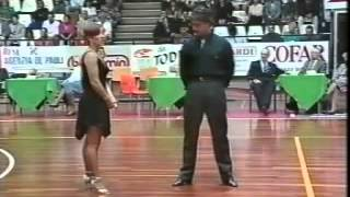 CAROLYN SMITH AND TINI MICHIELOTTO...CONGRESSO 1995 PASO DOBLE ANNB
