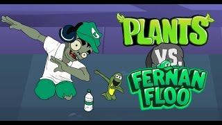 Plantas vs zombies animado 27 (PARODIA) Jehu Llerena {Fernanfloo zombie}