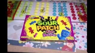 CANDY TASTE TEST: Sour Patch Kids Berries Candy Buttons