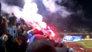 Salida Universidad de chile vs Deportes concepcion Pre-Sudamericana