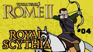 Total War: Rome 2 - Royal Scythian Campaign - Part 4 - Striking Back!
