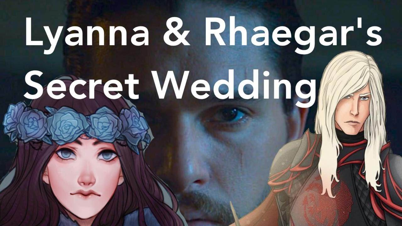 Risultati immagini per lyanna and rhaegar wedding