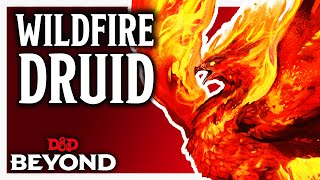 Druid: Circle of Wildfire in D&D's Unearthed Arcana
