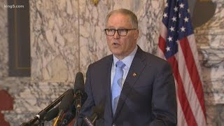 Gov. Jay Inslee announces closure of all K-12 schools across WA state due to coronavirus outbreak